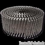 Coil nails 16° 2,8 x 70 mm screw, flat coil, bright