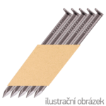 Paper strip nails 34° D-head 2,8 x 80 mm smooth