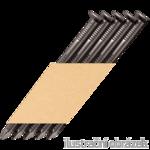 Paper strip nails 34° D-head 28 x 75 ring bright