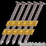 Plastic strip nails 21° 3,8 x 130 mm smooth, bright