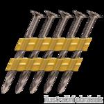 Plastic strip nails 21° 2,8 x 70 mm screw, bright