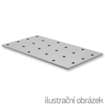 Jointing plate - perforated 100x140x2