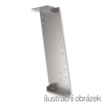 Gerber connector, slant 180x30x65x2,0