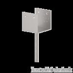 Anchor base to concrete type U 60x60x4,0