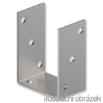 Anchor element type U 60x60x4,0