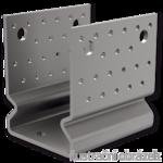 Anchor element type U reinforced 120x120x4,0