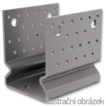 Anchor element type U reinforced 60x60x4,0