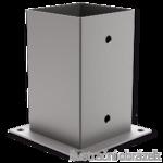 Post holder - square 100x100x150