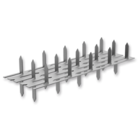Jointing plate - double spikes