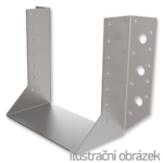 Joist hanger type 1 80x160x2,0