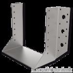 Joist hanger type 1 40x124x2,0