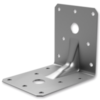Reinforced angle bracket 90° type 4