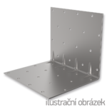 Reinforced angle bracket  90° Type 5 50x70x70x1,5
