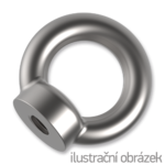 Lifting eye nut DIN582 M12, galvanized
