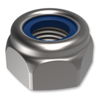 Nylon insert lock nuts DIN 985