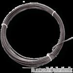 Vazací drát 1,0 mm černý, měkký, žíhaný - svitky 2 kg