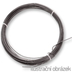 black annealed wire 1,2 mm - rings 2,0 kg