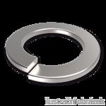 Spring lock washers DIN 127B, M4, galvanized