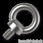 Lifting eye bolts M8, DIN 580, galvanized