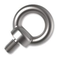 Lifting eye bolts DIN 580, zinc plated