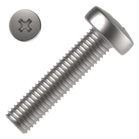 Pan head cross recessed screws DIN 7985