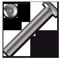 Hexagon socket button head screw ISO 7380 cl.10.9