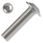 hexagon socket button head screw ISO 7380-2 cl. 10.9 M4x30mm, with flange, galvanized