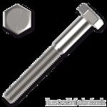 Hexagon head bolt DIN931 M20x80, cl.8.8, galvanized