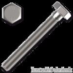 Hexagon head bolt DIN933 M4x10 mm, cl. 8.8, galvanized