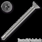 Self drilling screw, countersunk head, TEX 6,3x25mm DIN7504P