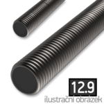 Threaded rod DIN976 M8x1000, cl.12.9, bright