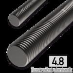 Threaded rod DIN976 M14x1000, cl.4.8, bright