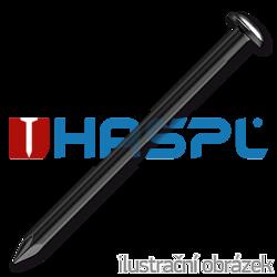 Hardened steel nails 2,0 x 40 mm, round head, black