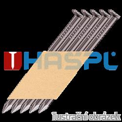 Paper strip nails 34º D-head 2,8 x 75 smooth bright