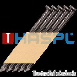 Paper strip nails 34˚ D-head 28 x 50 ring bright