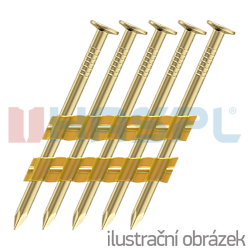 Plastic strip nails 28 x 80 smooth EG