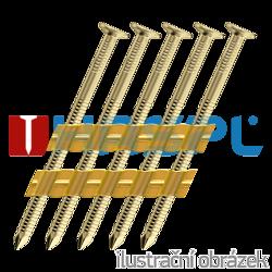R2031 x 100 NK RING 13µ žlutý zinek NEUTRAL 3000