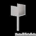 Anchor base to concrete type U 120x100x4,0 - 1/3