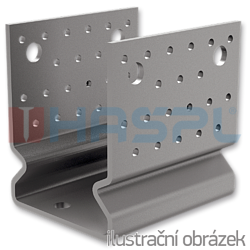 Anchor element type U reinforced 60x60x4,0 - 1