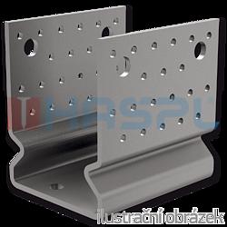 Anchor element type U reinforced 80x80x4,0 - 1
