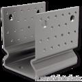 Anchor element type U reinforced 80x80x4,0 - 1/3