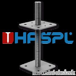 Pillar base 80x80x330x4,0 M24 - 1
