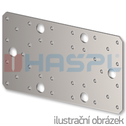 Connecting plate 55x140x2,0 - 1
