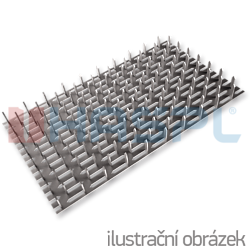 Jointing plate - single spikes 24x210x1 - 1