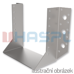 Joist hanger type 1 160x160x2,0 - 1