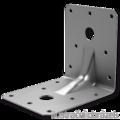 Reinforced angle bracket  90° Type 4 90x105x105x3,0 - 1/3