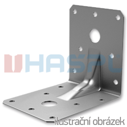 Reinforced angle bracket  90° Type 4 55x70x70x2,0 - 1
