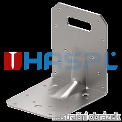 Reinforced angle bracket Type 4 90x105x105x3,0 groove - 1