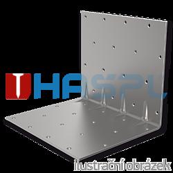 Reinforced angle bracket  90° Type 5 30x70x70x1,5 - 1
