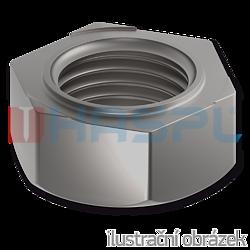 Hexagon weld nuts DIN 929, M6, bright